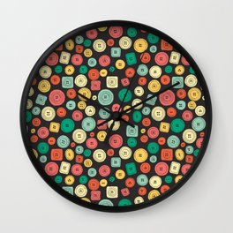 The other buttons... Wall Clock