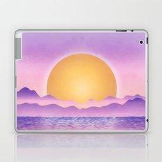 Sunset - purple variation Laptop & iPad Skin