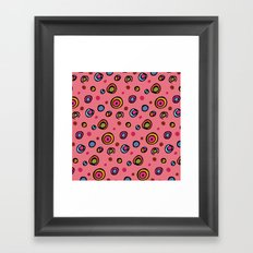 DOTTIE PINK Framed Art Print