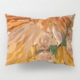 Weaved Flowers Pillow Sham