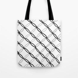 Leafy Grate Pattern Tote Bag