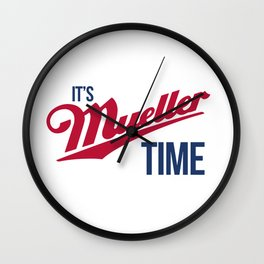 Mueller Time Wall Clock