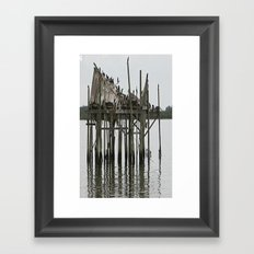 postcard Framed Art Print