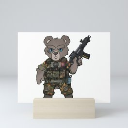 Germany Army Special Forces - Military Teddy Gift Ideas Mini Art Print