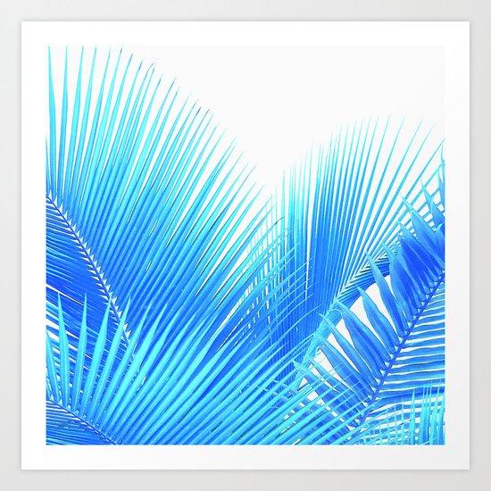 Winter Palm Art Print