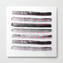 abstract watercolor dots Metal Print