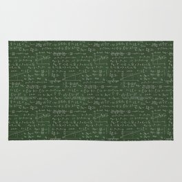 Geek math or economic pattern Rug