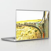 train Laptop & iPad Skins featuring Train by Mr and Mrs Quirynen