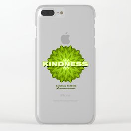 Fruit of the Spirit, Kindness Clear iPhone Case