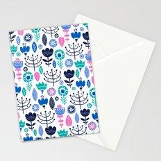 Flourish (Blues) Stationery Cards