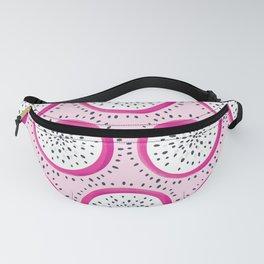 Dragon Fruit Pattern on Pink Fanny Pack