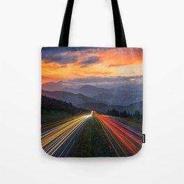 I-70 Traffic Tote Bag