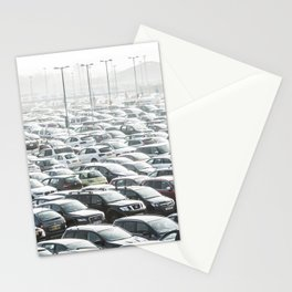 Sea of Cars Stationery Cards