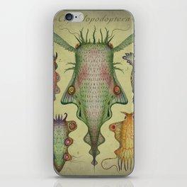 Cephalopodoptera Tab. III iPhone Skin