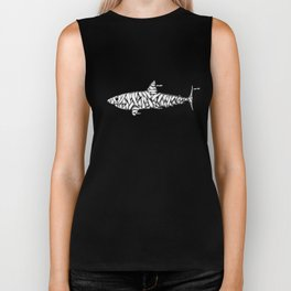Shark-Mummy Biker Tank