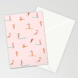 Sea babes Stationery Cards