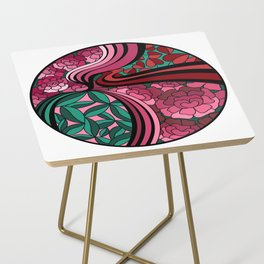 Floral Unity Side Table