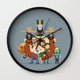 So much trouble Wall Clock