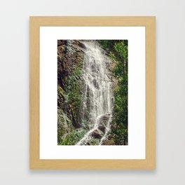 Feel the Cleansing Framed Art Print