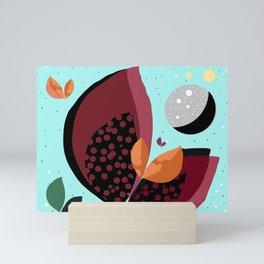 Cosmic petals Mini Art Print