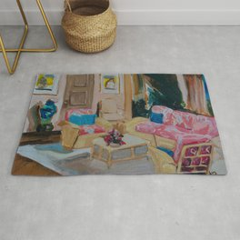 Golden Girls living room Rug