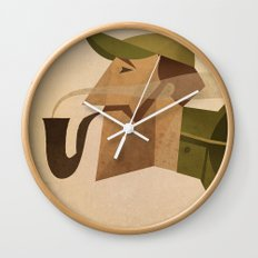 Reginald Wall Clock