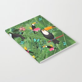 Toucan tropic Notebook