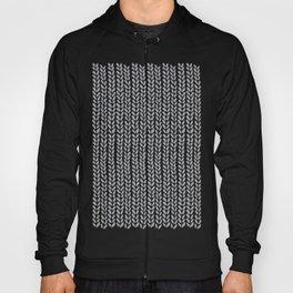 Knit Wave Grey Hoody