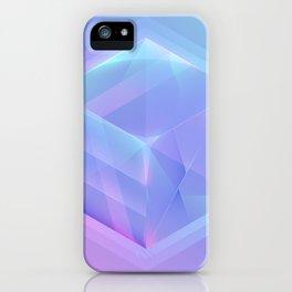 Hologram Cube Neon Colors Club iPhone Case