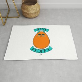Just Fluffy (Orange) Rug
