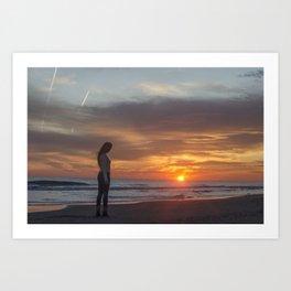 Un verano invencible Art Print