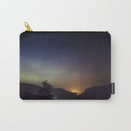 Northern lights in Donegal, Ireland Carry-All Pouch