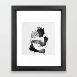 I would keep you forever. Framed Art Print