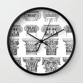 Order of columns Wall Clock