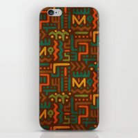 african iPhone & iPod Skins featuring African by Arcturus