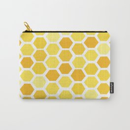 Beehive Pattern by Friztin Carry-All Pouch