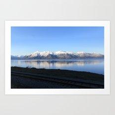 The Alaskan Railroad Art Print