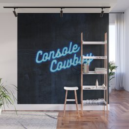 Console Cowboy Wall Mural