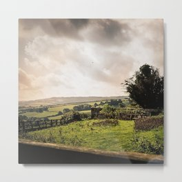 Before the Crepuscule, The Cotswold, United Kingdom Metal Print