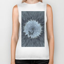 Blooming of life on the starry night. Biker Tank