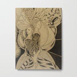 Two Together Metal Print