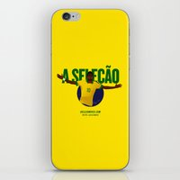 brasil iPhone & iPod Skins featuring Brasil by Skiller Moves