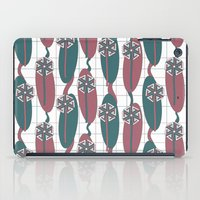 mod iPad Cases featuring Mod Dandelion by Glanoramay