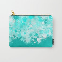 paint splatter on gradient pattern dri Carry-All Pouch
