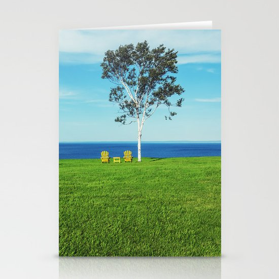 Chairs with a View Stationery Cards