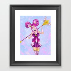 Star Guardian Lux Framed Art Print