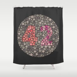 The Answer Shower Curtain