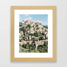 Gordes France Framed Art Print