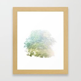 Where the sea sings to the trees - 9 Framed Art Print