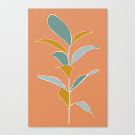 slowdown - salmon Canvas Print